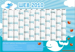 Twitterkalender Druckerei.de